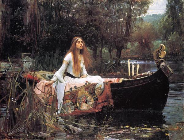 Lady Shalott by John William Waterhouse
