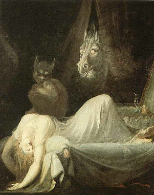 Henry Fuseli - The Nightmare - 1781