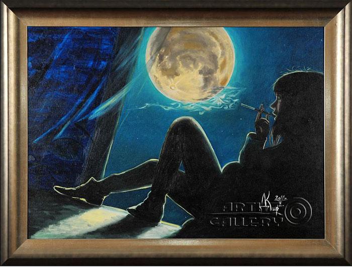 'Sitting at an open window that night...'. Kirdyanov Denis