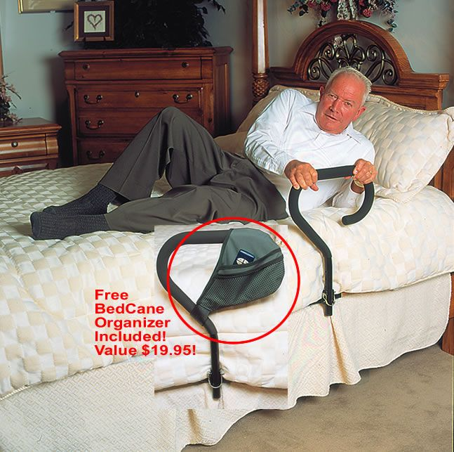 Bed Cane  helps get out of bed
