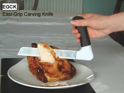 transfer chair shower dorado office easi grip carving knife :: ergonomic kitchen