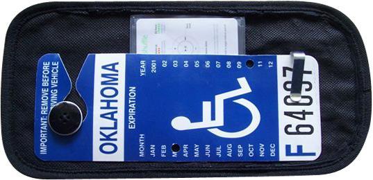 HANDICARD  Visor Display for Handicapped Parking Permit