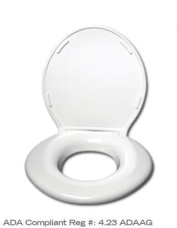 Big John Original Heavy Duty Toilet Seat King Size Commode