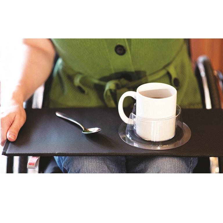 The Long Grip Lap Board  flat portable wheelchair lap desk