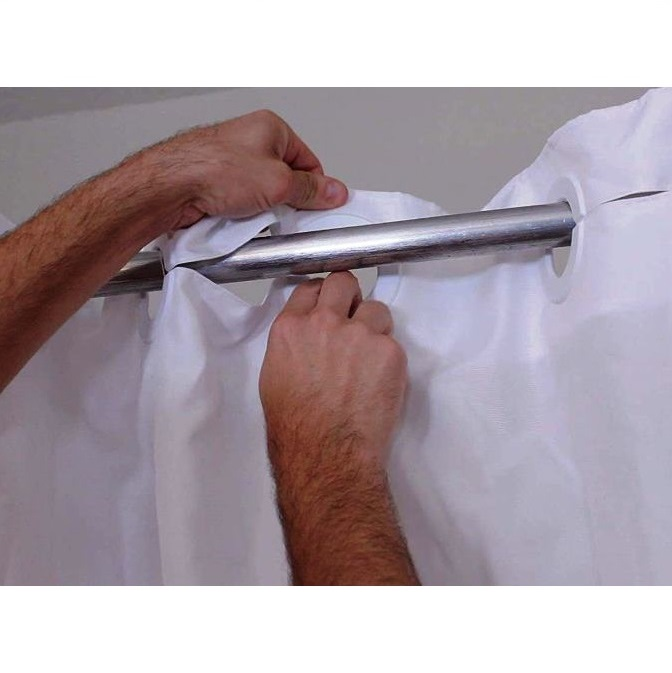 bench buddy adapted shower curtain whitaker
