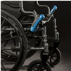 Wheelchair Grips Video Rocker Chair Walmart Handsbuddy Brake Handles Large And Comfortable That Cover Preexisting Hard To Use