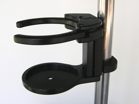 SnapIt! Folding Adjustable Drink Holder :: can hold
