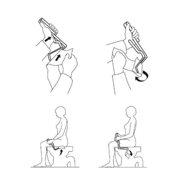 Etac Toilet Tissue Aid :: open loop handle easy for
