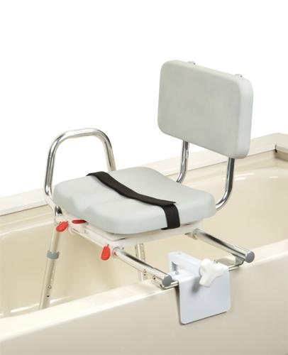 SnapNSave Sliding Tubmount Transfer Bench with Swivel Seat