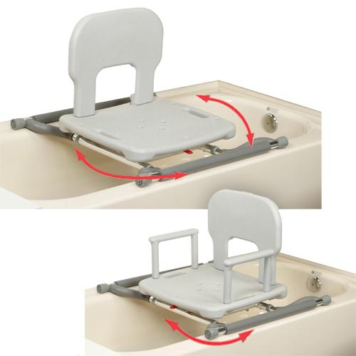 electric bath chairs elderly madison park chairside accent table tub mounted swivel shower chair
