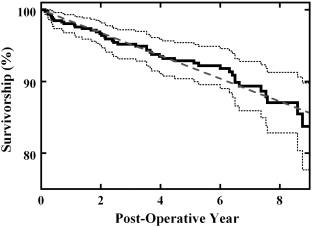 Mid-Term Survivorship of Minimally Invasive