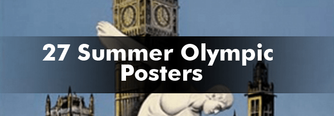 27-Summer-Olympic-Posters