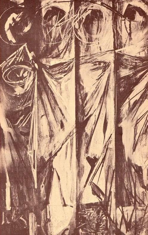 Arthur Kraft, Artist, Kansas City, Painting, Illustriation, Print, Lithograph, The Divine Journey, Lon Amick