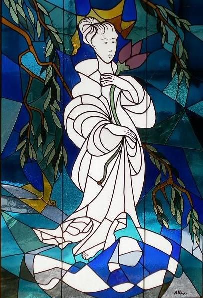 Arthur Kraft, Artist, Kansas City, Stained Glass, Carter Art Center