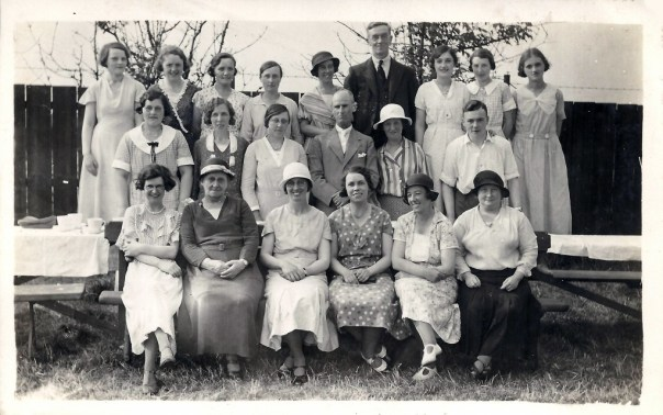 South Durham Street Chapel group photo. c. 1930.