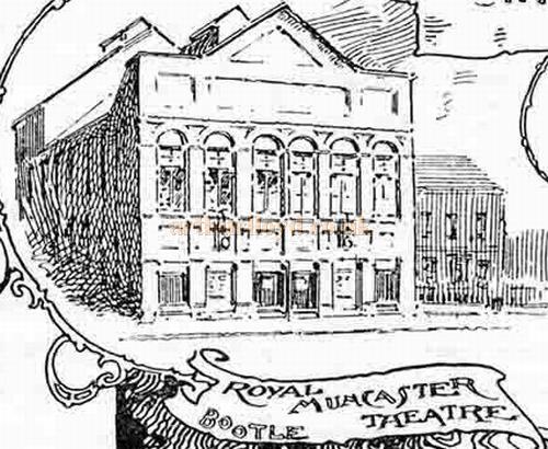 Royal Muncaster Theatre, Irlam Road, Bootle, Liverpool