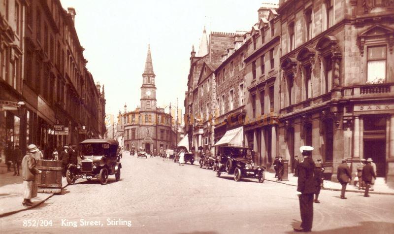 Image result for stirling high street 1950s