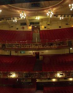 The auditorium of frank matcham   victoria palace theatre in august photo   also street london rh arthurlloyd