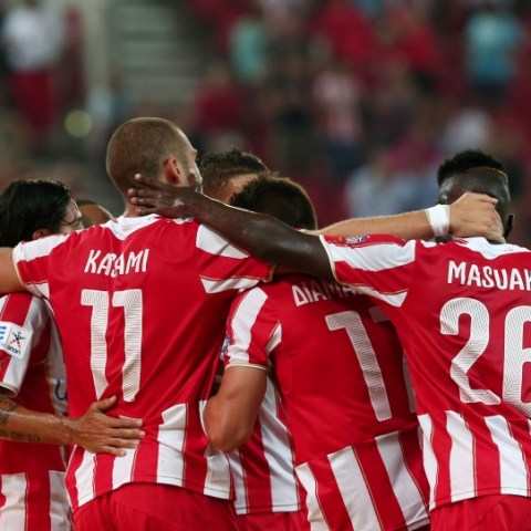 Olympiakos vs Niki Volou 23/08/2014