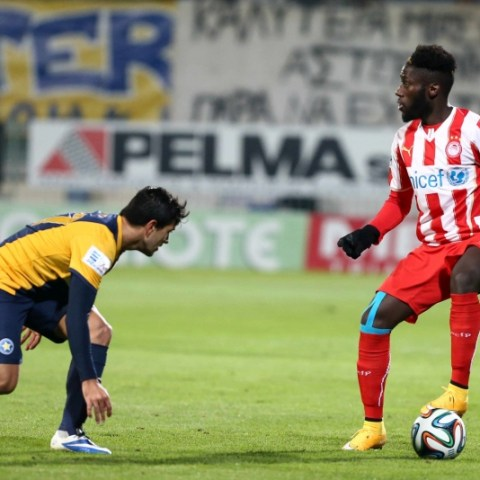 Astras Tripolis vs Olympiakos 1/11/2014