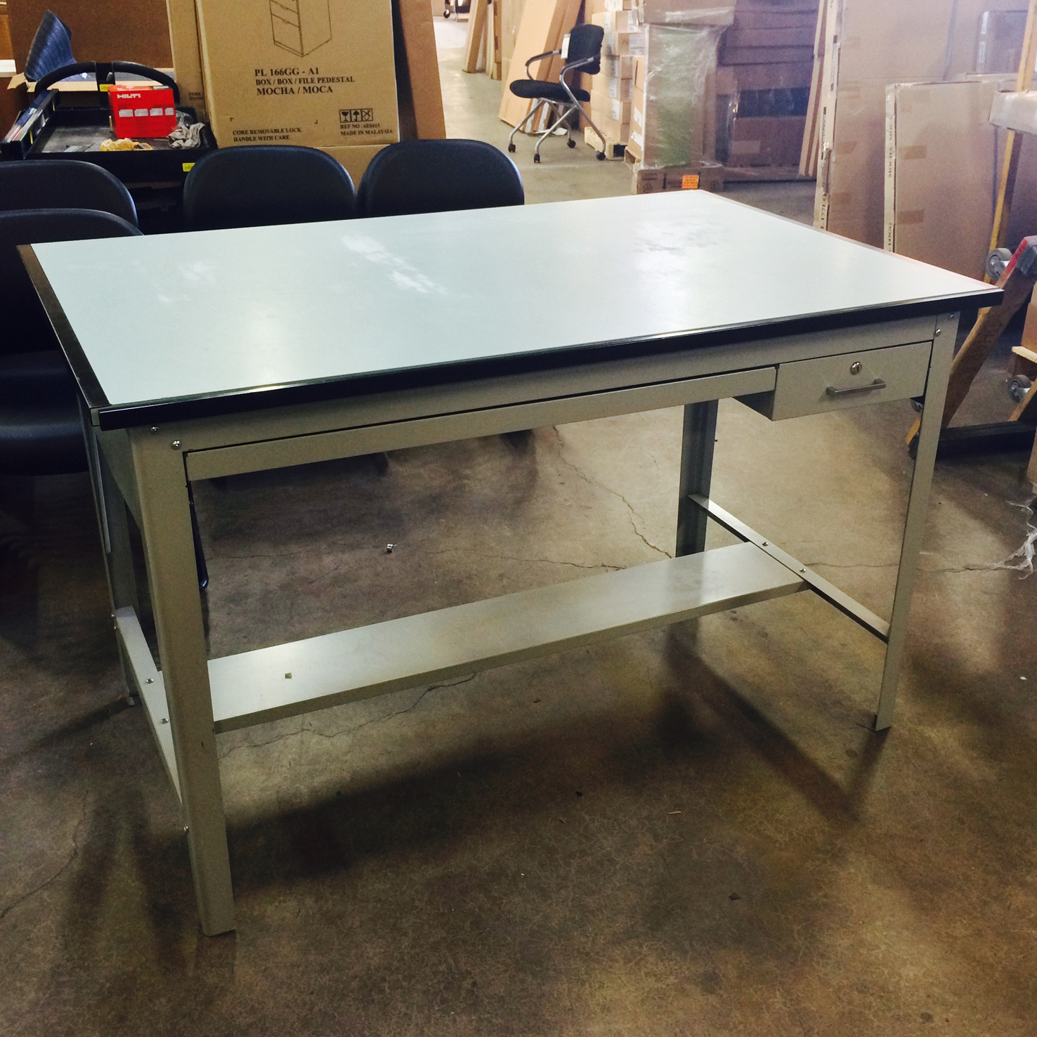 drafting table chair height cheap covers brisbane used tables - $275 sale | arthur p. o'hara, inc.