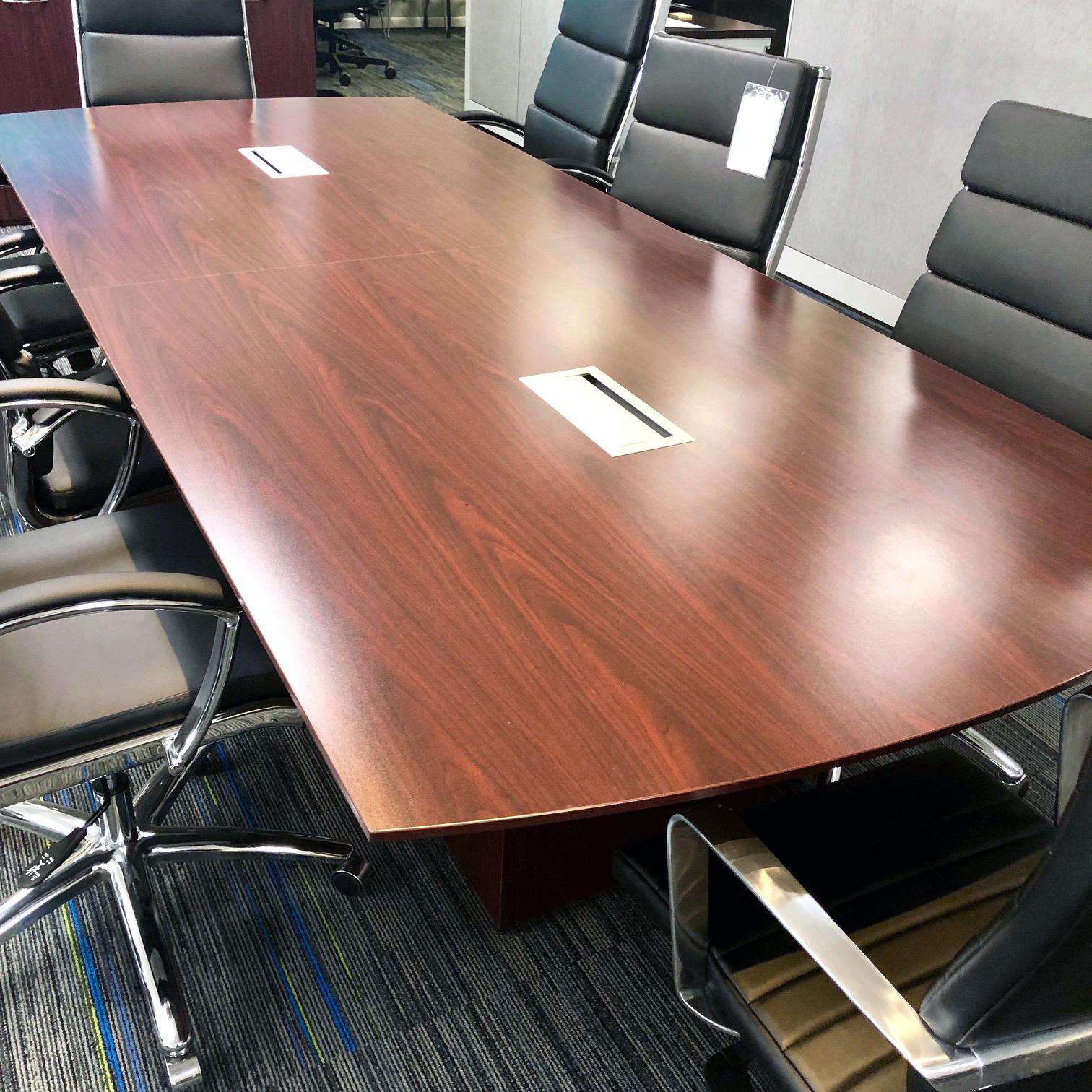10 Conference Table Showroom Sample W Power Arthur P O Hara Inc