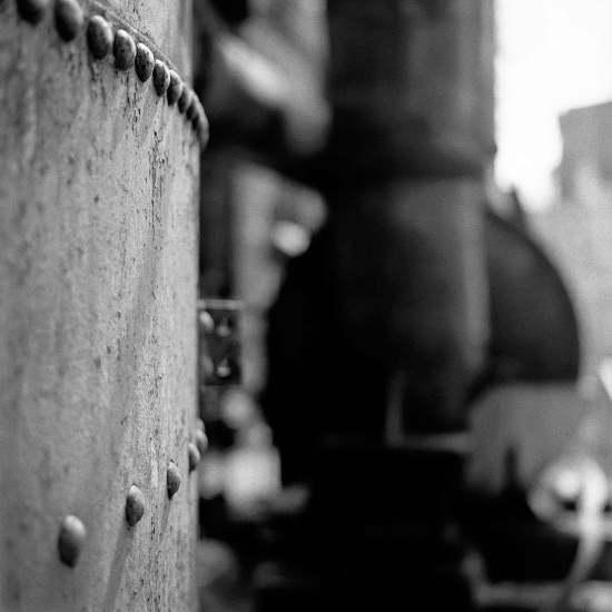 photographe reportage urbex : uziness - anderlues extérieur