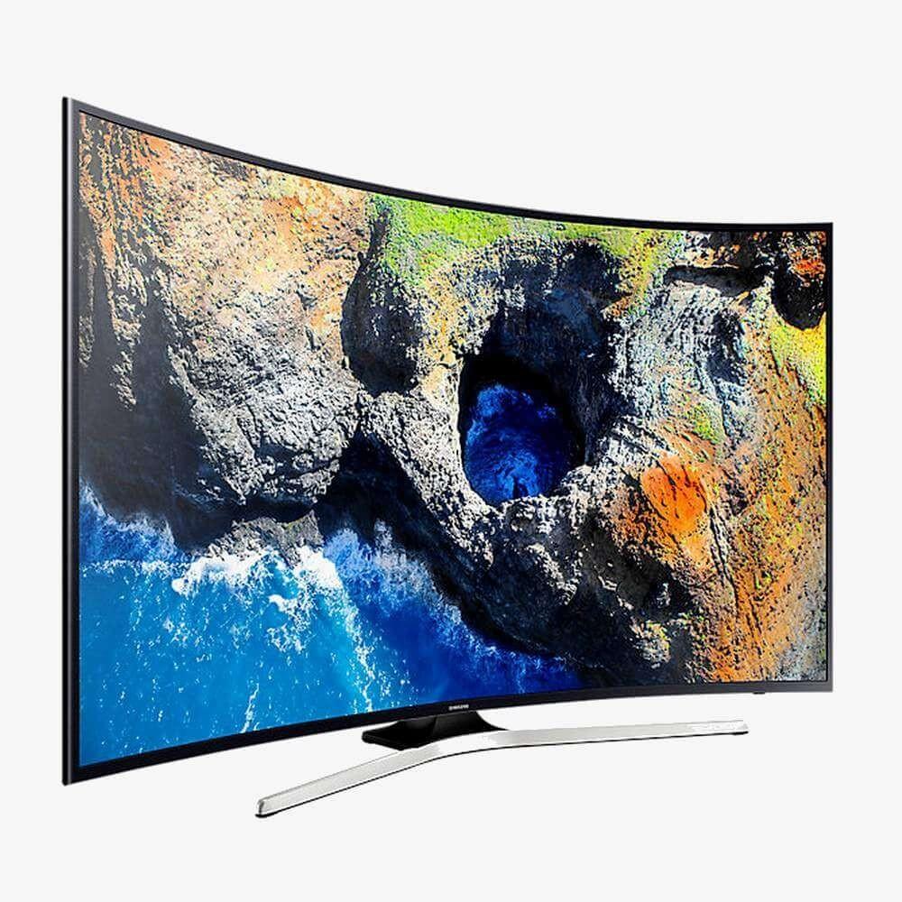 samsung smart tv mu7350 uhd 4k incurve 55 pouces