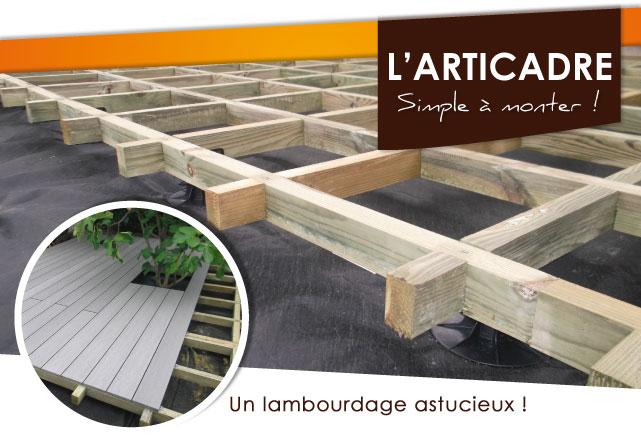 Habillez Votre Jardin Articadre Terrasse Bois Lambourdage