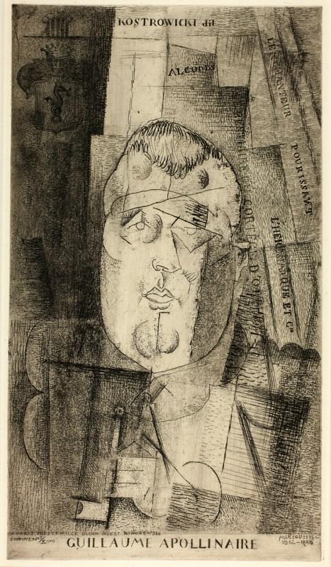 Portrait Of Guillaume Apollinaire Art Institute