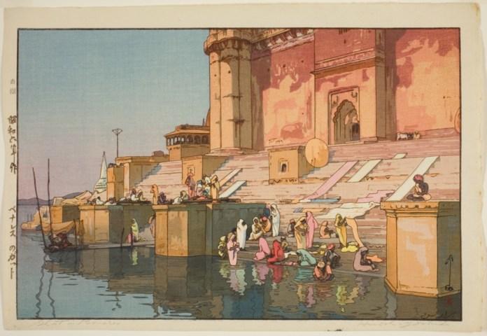 India paintings European Artists japanese hiroshi yoshida