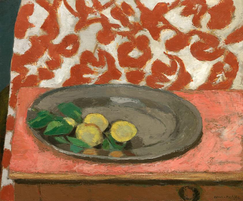 Lemons Pewter Plate Art Institute Of Chicago