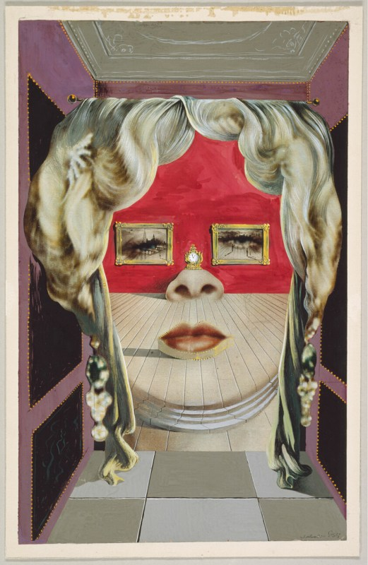 Mae West' Face Used Surrealist