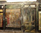 """""""El Escaparate"""". Tomás Castaño. Óleo sobre lienzo 81 x 100 cm."""