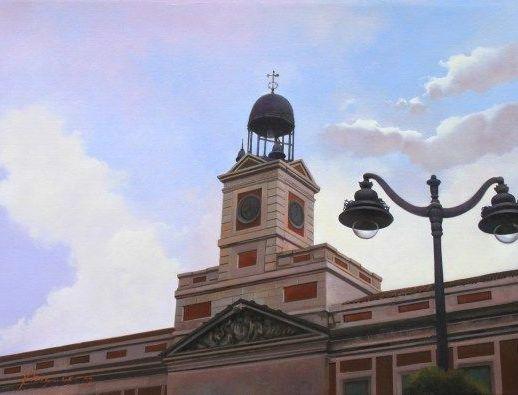"""Luz en Sol"". José Higuera. Óleo sobre lienzo. 60x40 cm."