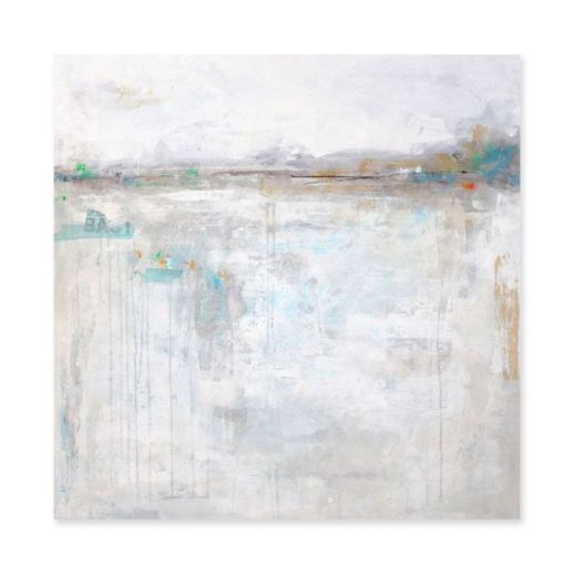 """""""Horizon-1"""". 80x80 cm. Técnica mixta sobre lienzo."""