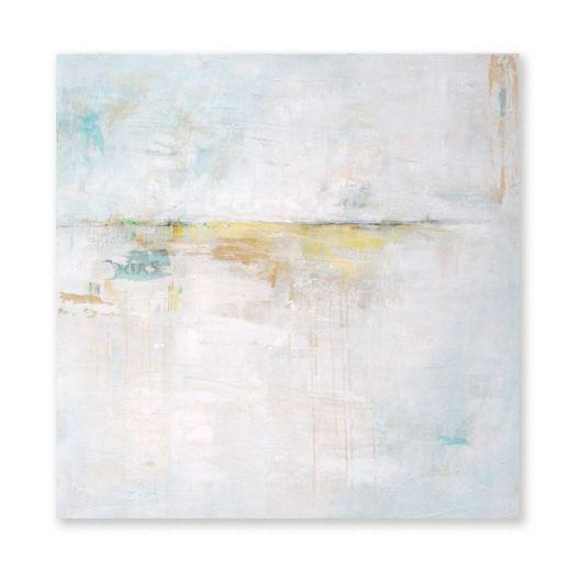 """""""Horizon-2"""". 80x80 cm. Técnica mixta sobre lienzo."""