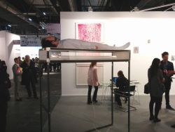 William Mackrell en ArcoMadrid 2018