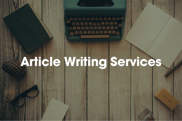 Article Writing Services - Seo Articles Writers