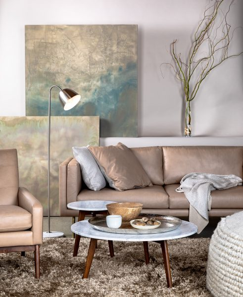 small living room sofa color bed for baby how to choose a your articulate the belez in mink taupe looking cool and elegant