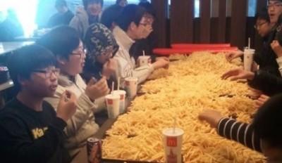 Lots of fries