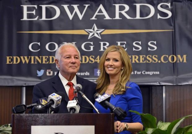 Convicted Louisiana Governor Edwin Edwards