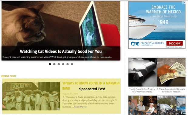 Advertise on Article Cats with a sponsored post!