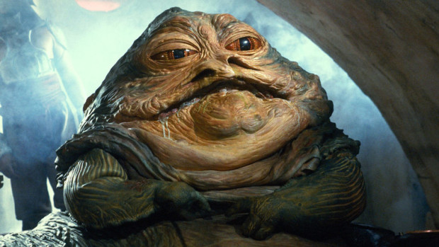 Jabba the Hutt from Star Wars