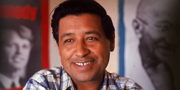 Civil Rights leader Cesar Chavez