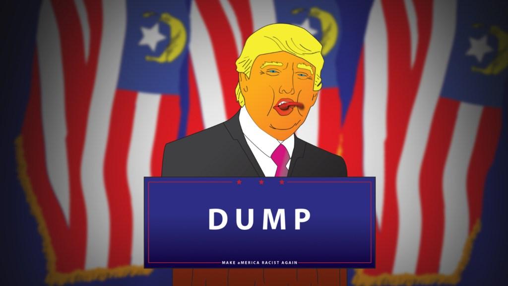 Tronald Dump for president! (Tumblr).