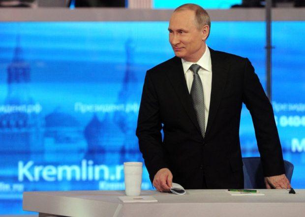 Russia hacking Putin