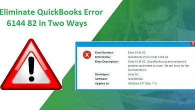 Photo of How to you Solve QuickBooks Error 6144 82?