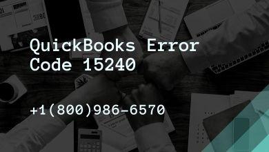 Photo of QuickBooks Error Code 15240 | +1800-986-6570 | Payroll Update