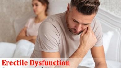Photo of Erectile dysfunction: Symptoms and Treatment
